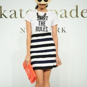 Kate Spade - 'Skirt The Rules' Striped Skirt